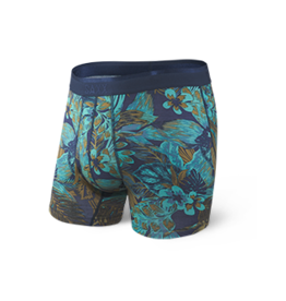 Saxx Saxx Platinum Boxer Brief Fly - Navy Souvenir Shirt