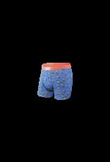 Saxx Saxx Vibe Boxer Brief - Blue Pineapple Bash