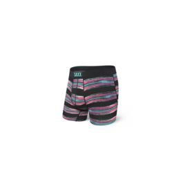 Saxx Saxx Vibe Boxer Brief - Black Pulled Stripe