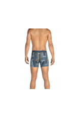Saxx Saxx Vibe Boxer Brief - Blue Patchwork