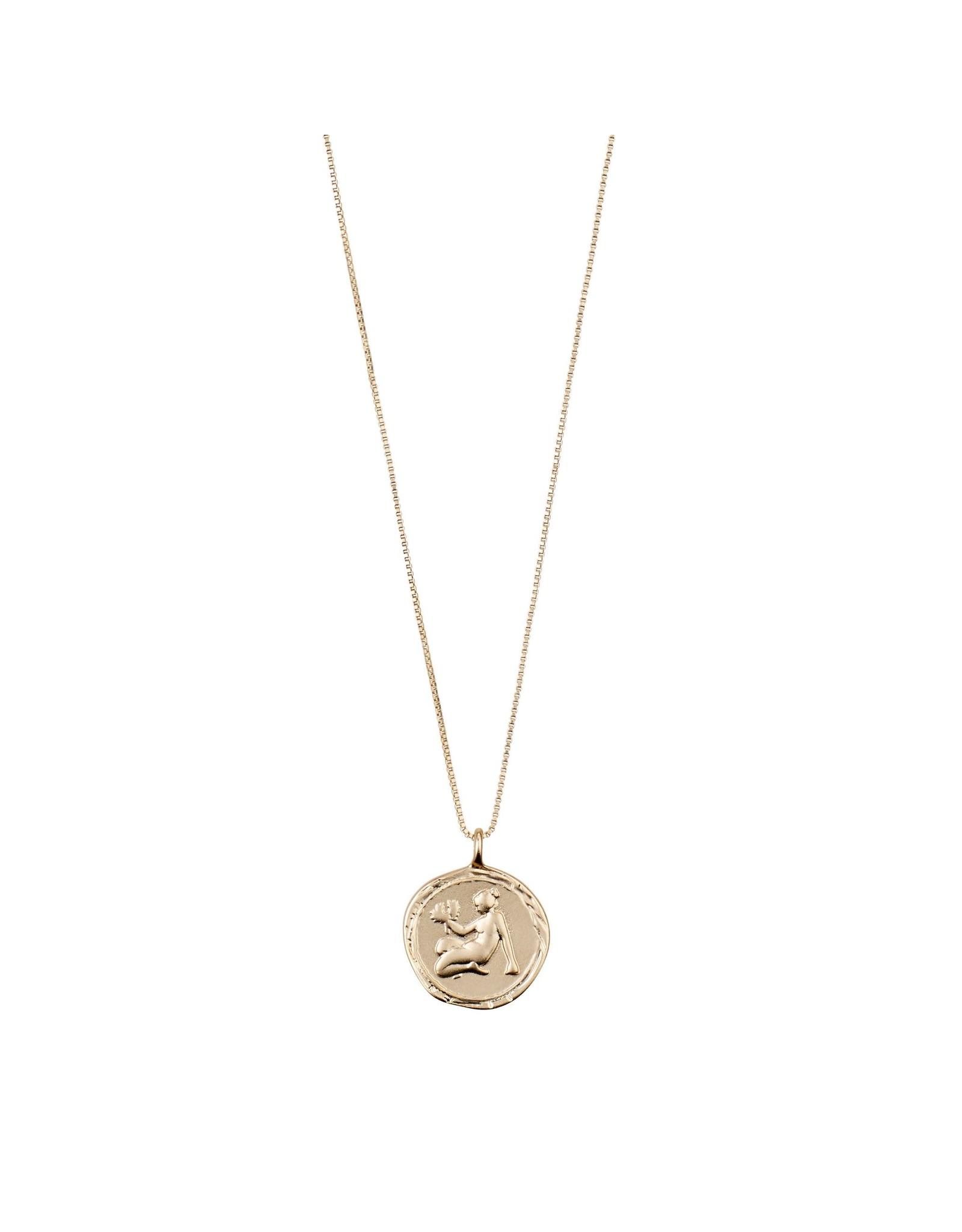 Pilgrim Pilgrim Gold Zodiac Necklace