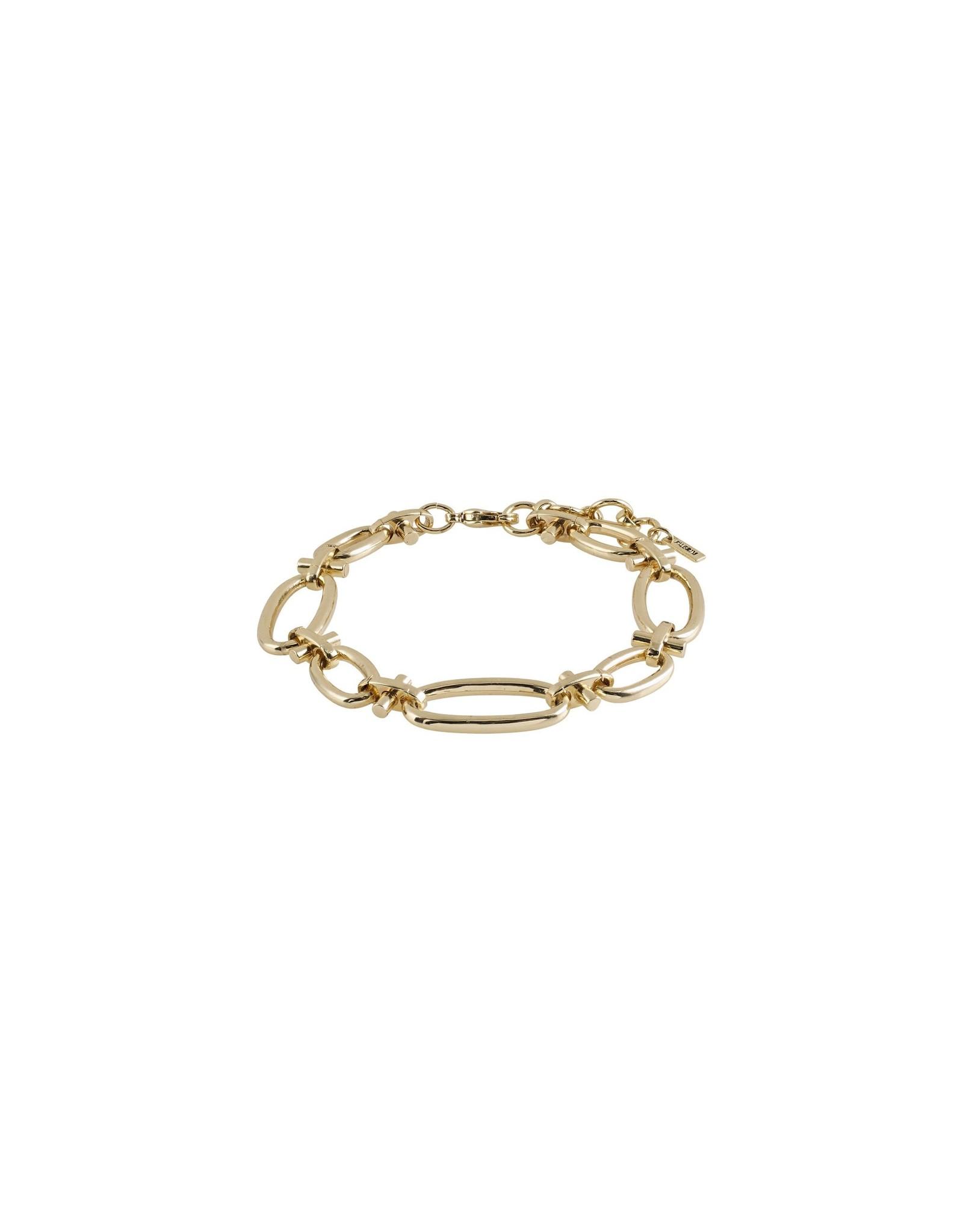 Pilgrim Pilgrim Wisdom Bracelet Gold Plated
