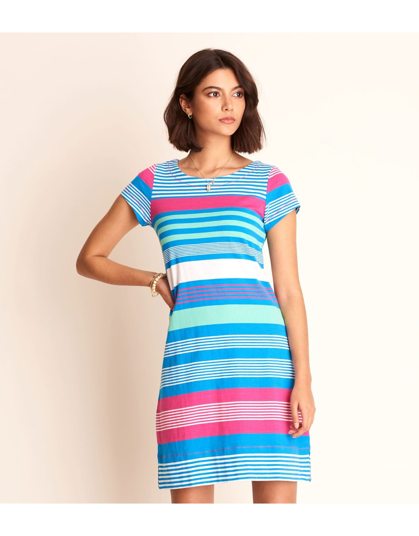 Hatley Nellie Dress - Bermuda Stripes XS ONLY