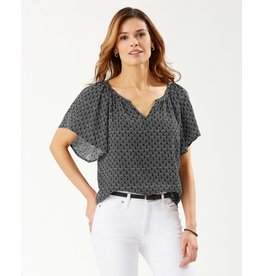 Tommy Bahama Getaway Grotto SS Top