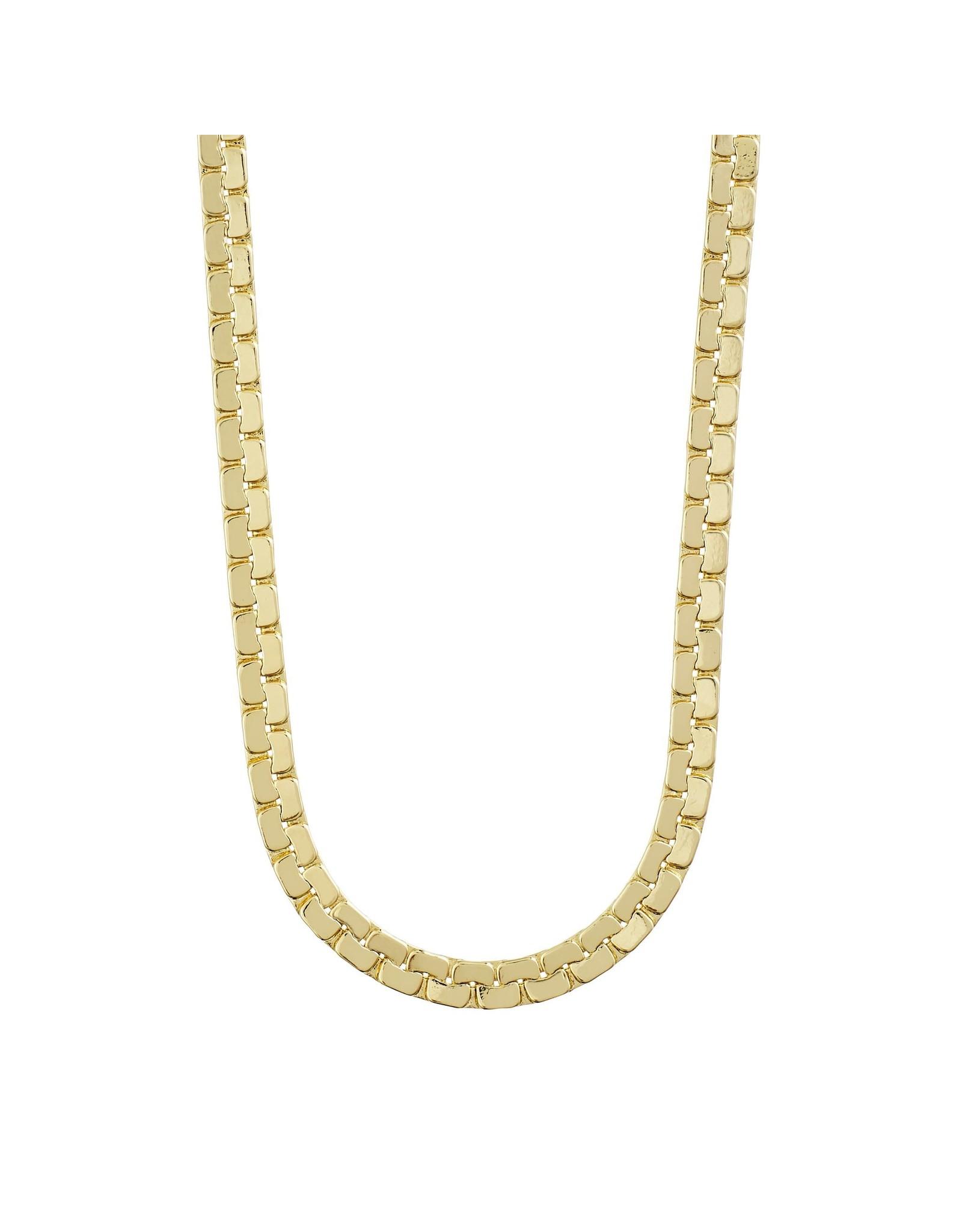 Pilgrim Pilgrim Beauty Necklace Gold Plated II