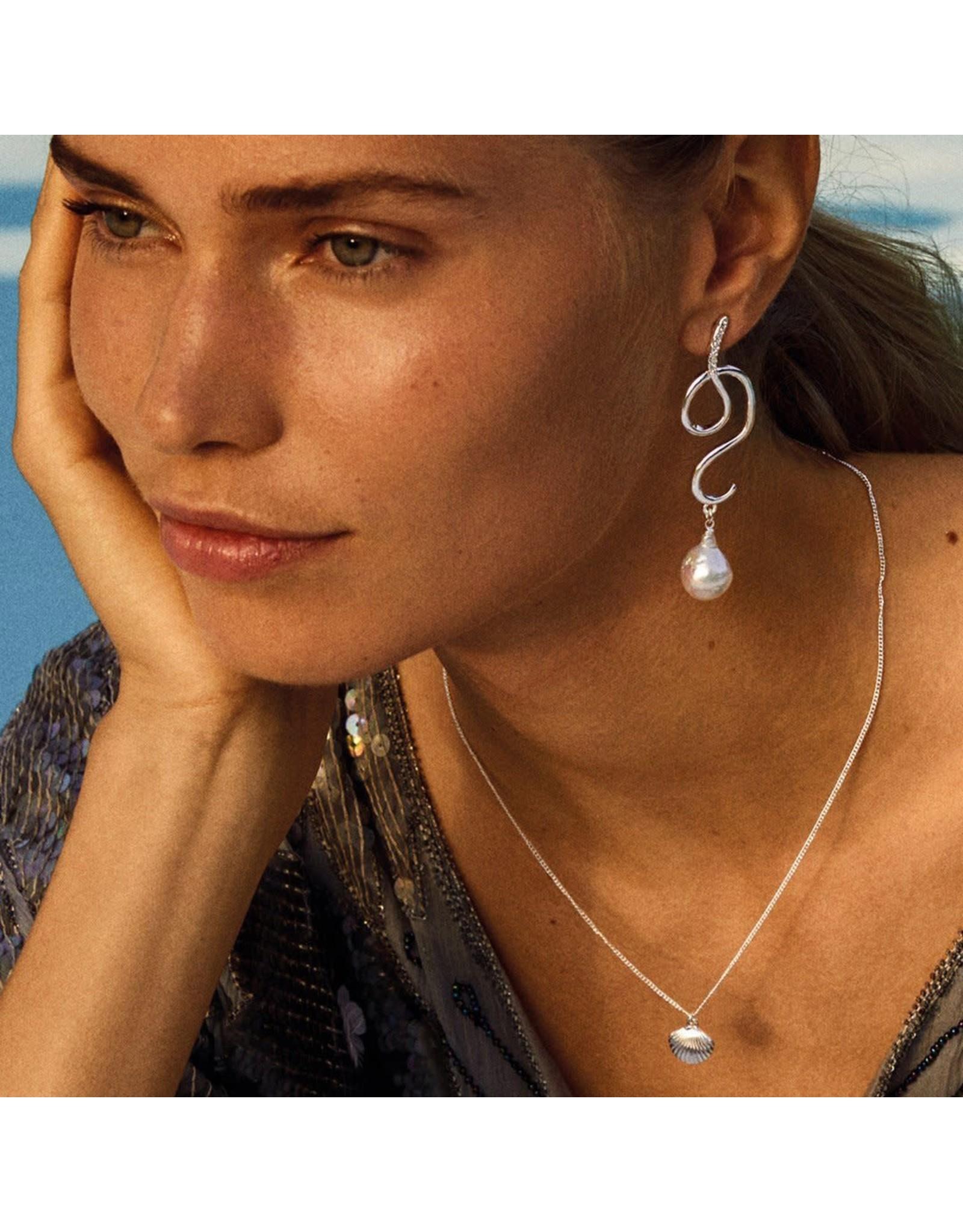 Pilgrim Pilgrim Love Necklace Silver Plated