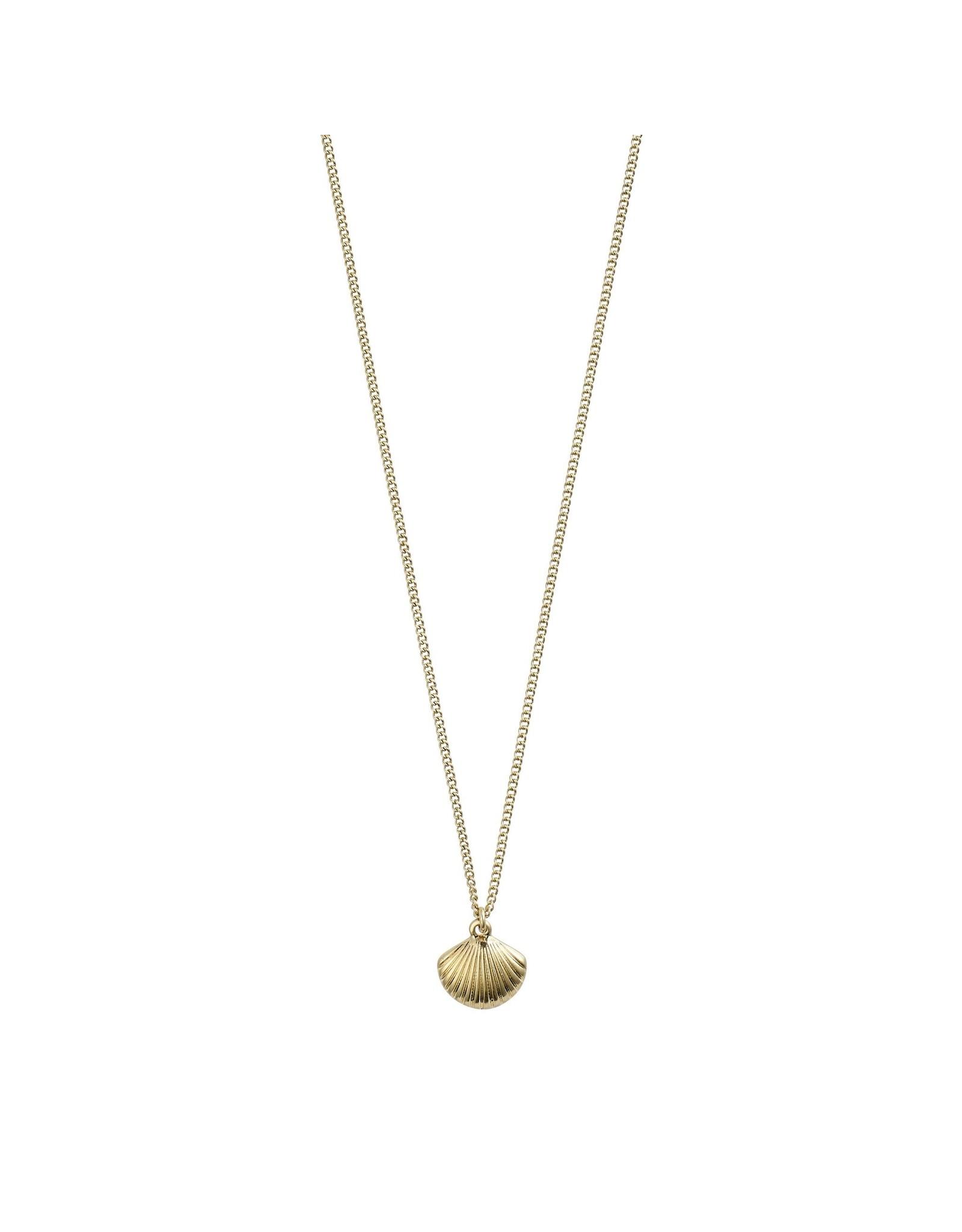Pilgrim Pilgrim Love Necklace Gold Plated