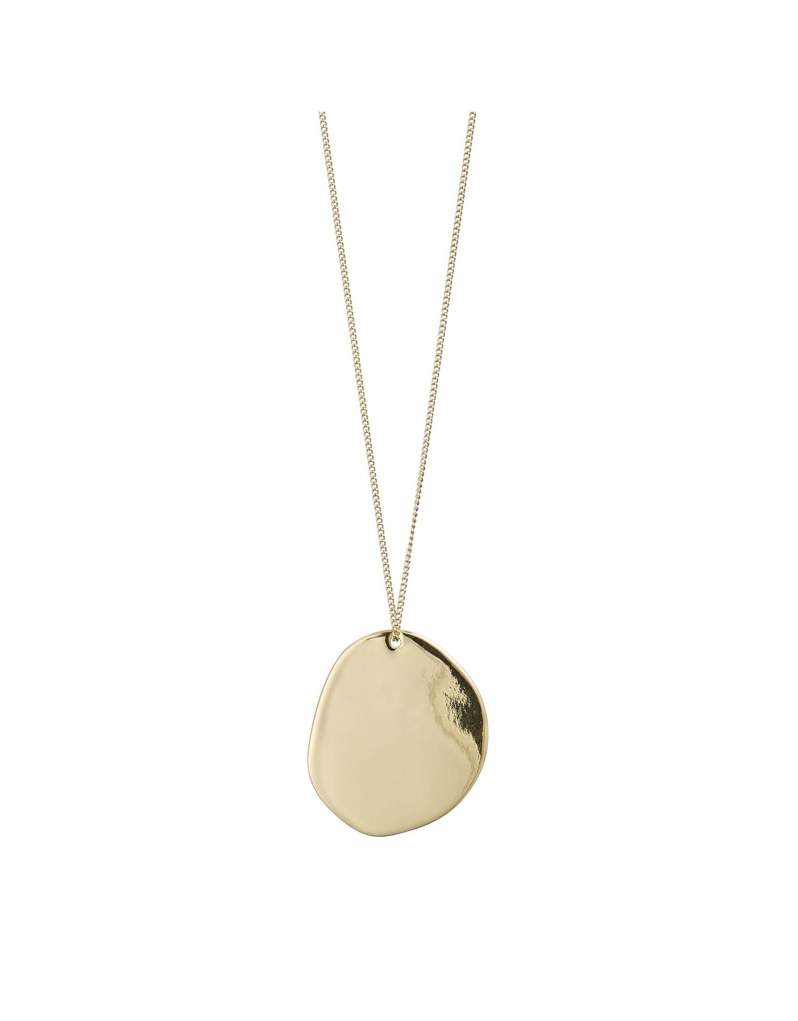 Pilgrim Pilgrim Love Necklace Gold Plated II
