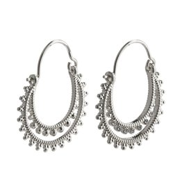 Pilgrim Pilgrim Signe Earrings Silver Plated