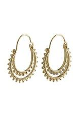 Pilgrim Pilgrim Signe Earrings Gold Plated