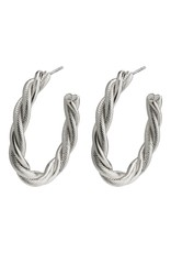 Pilgrim Pilgrim Baya Earrings Silver Plated