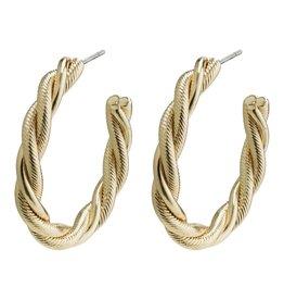 Pilgrim Pilgrim Baya Earrings Gold Plated