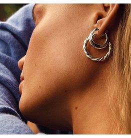 Pilgrim Pilgrim Sabri Earrings Silver Plated