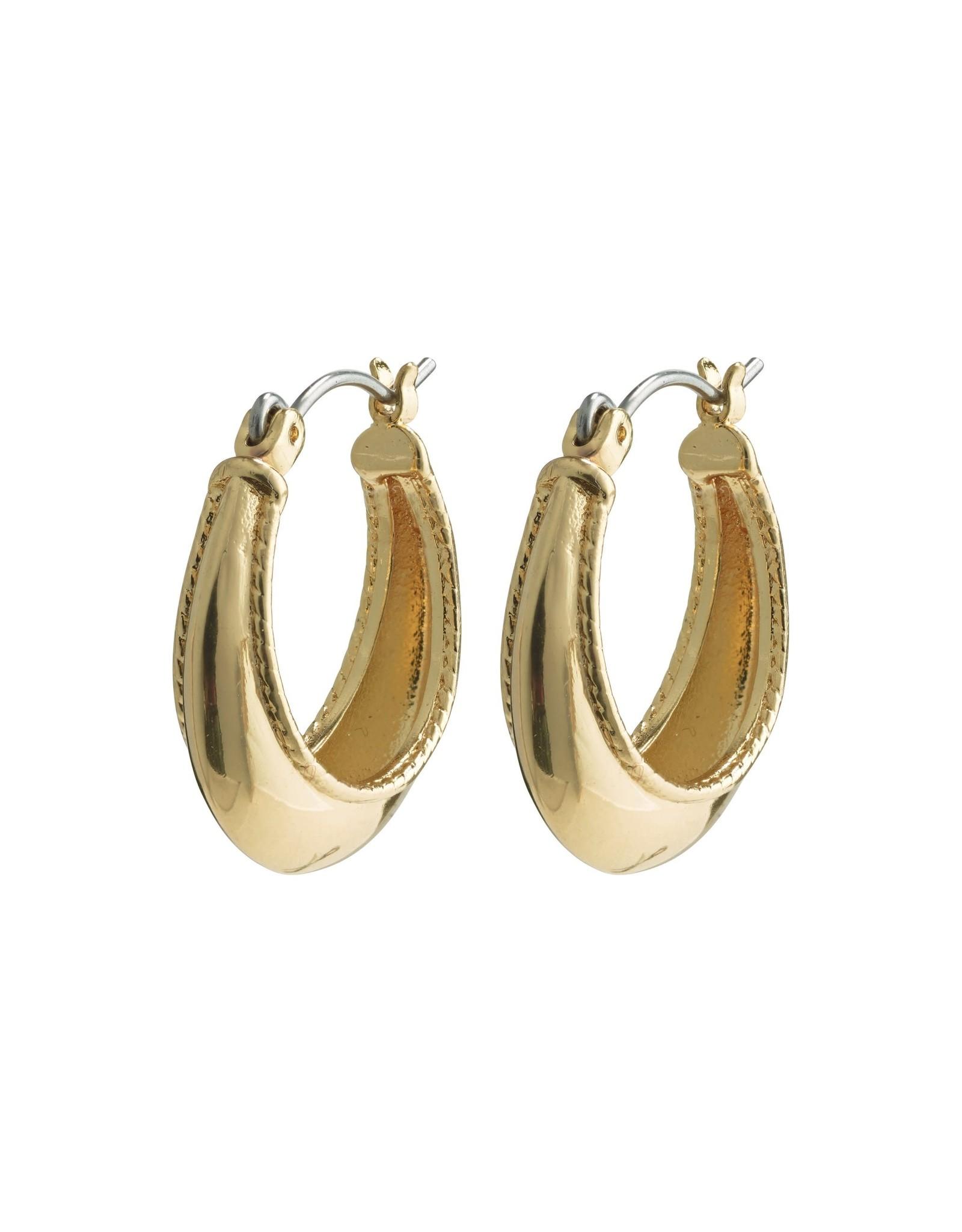 Pilgrim Pilgrim Sabri Earrings Gold Plated