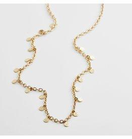 Pilgrim Pilgrim Panna Necklace Gold Plated