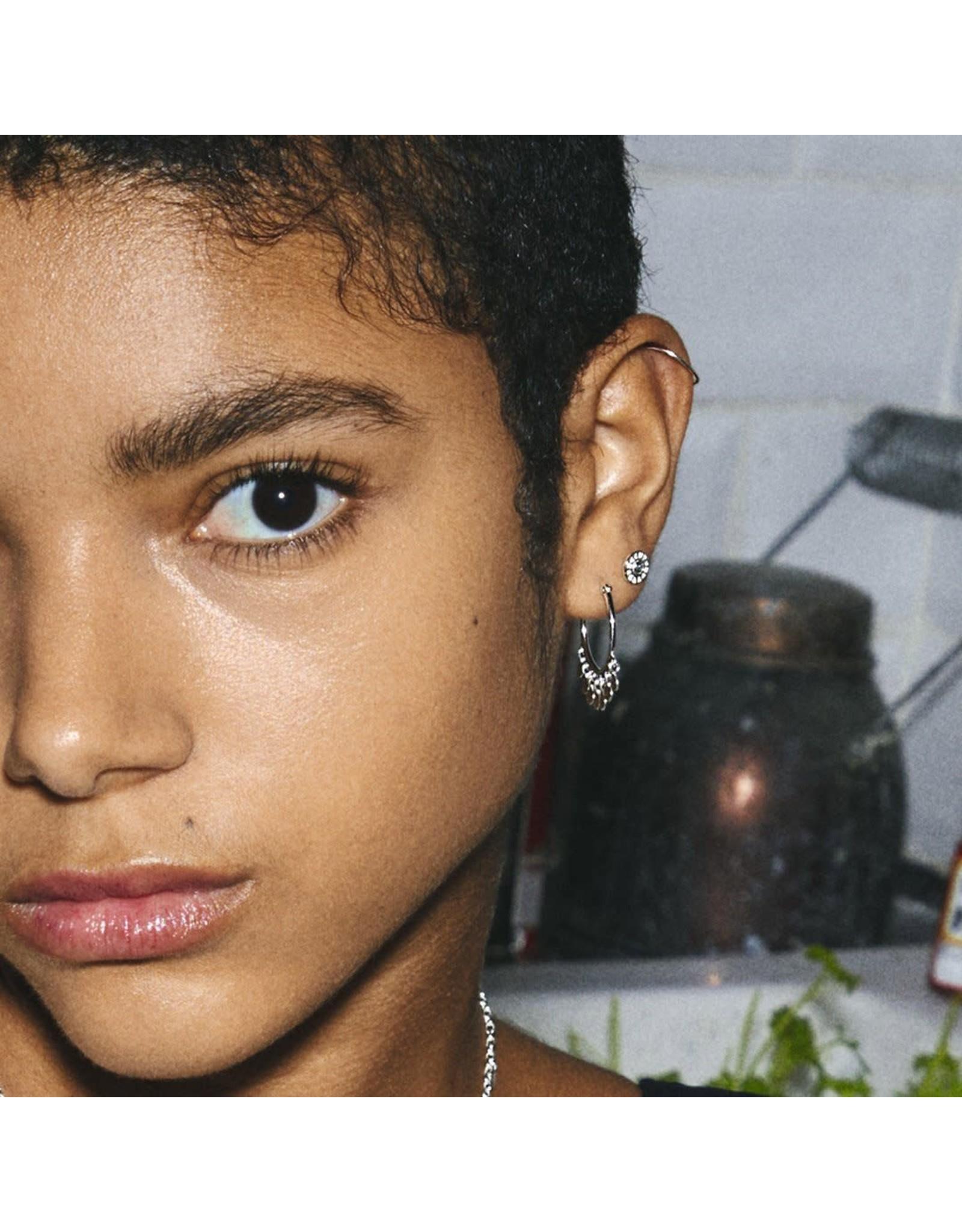Pilgrim Pilgrim Panna Earrings Silver Plated