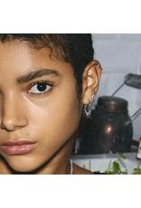 Pilgrim Pilgrim Fia Earrings Silver Plated Crystal