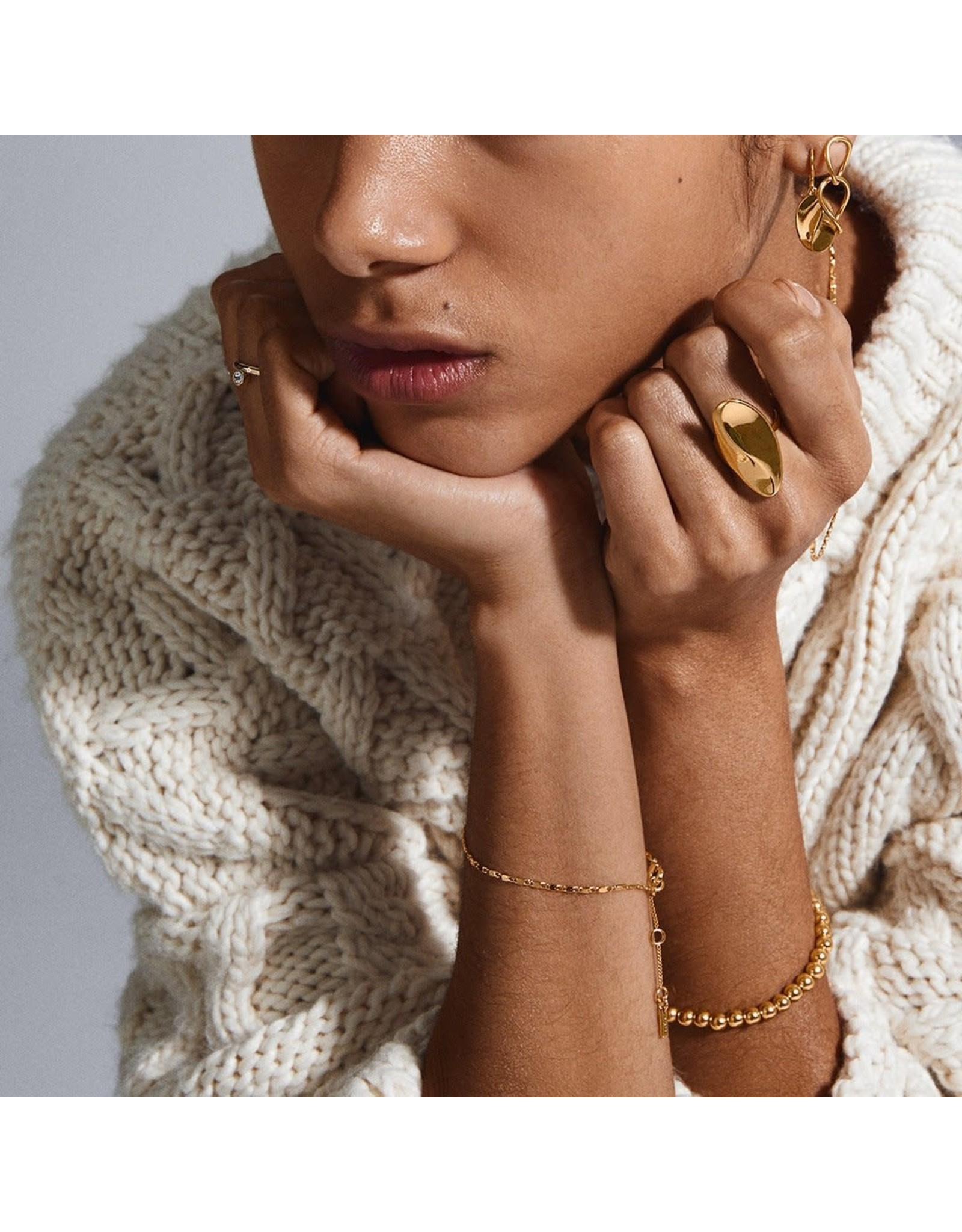 Pilgrim Pilgrim Mabelle Earrings Gold Plated