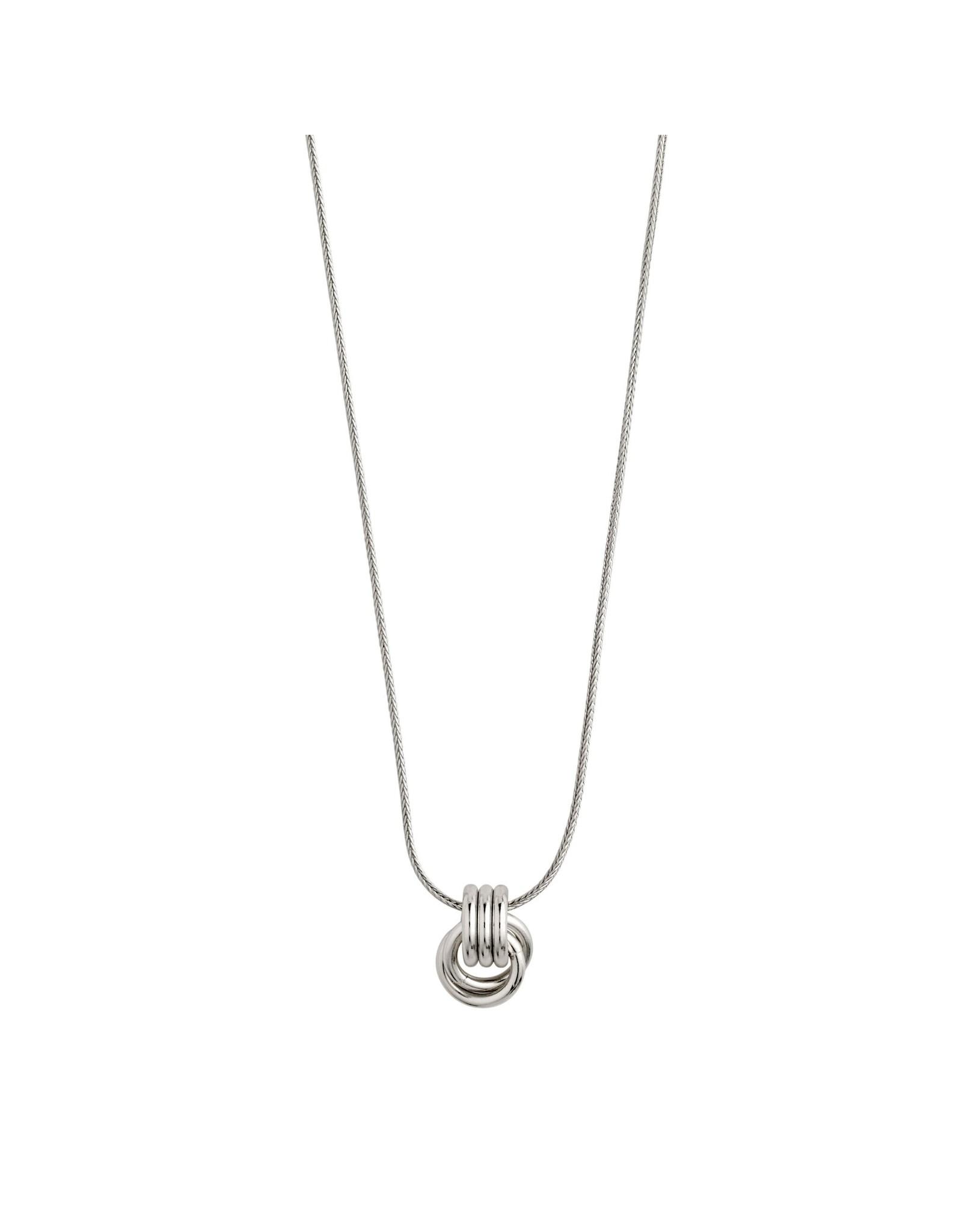 Pilgrim Pilgrim Doris Necklace Silver Plated
