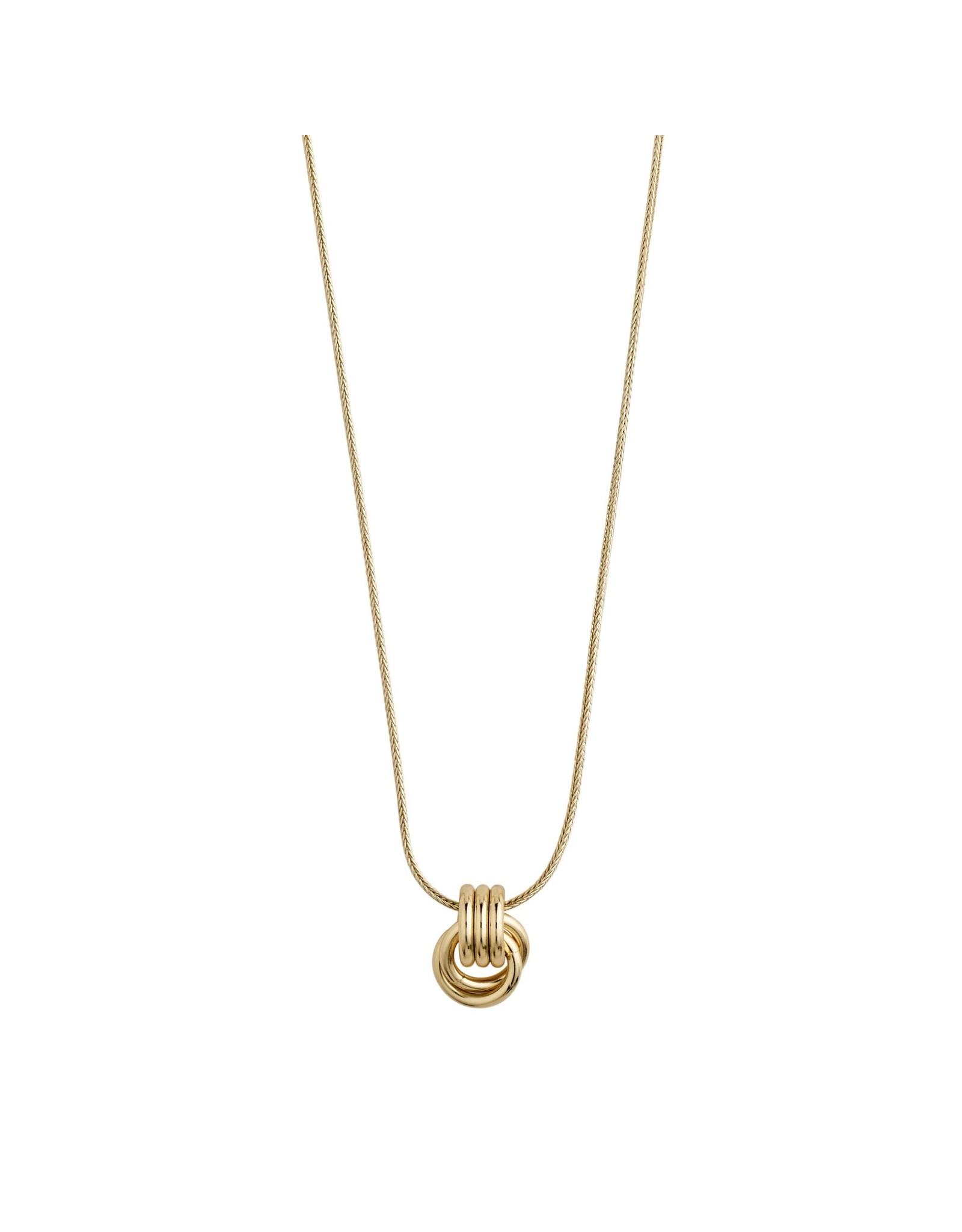 Pilgrim Pilgrim Doris Necklace Gold Plated