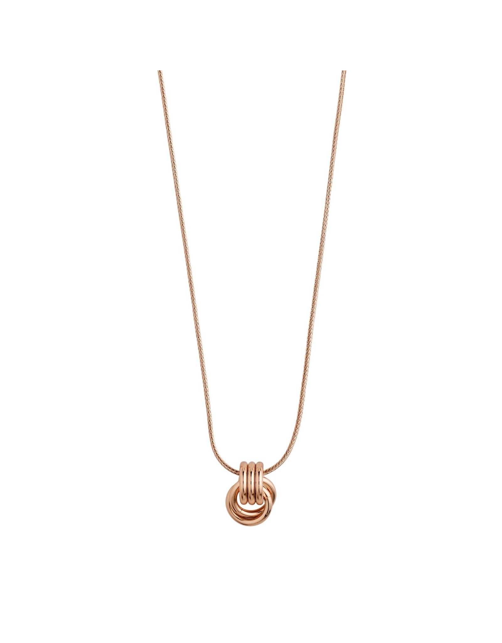 Pilgrim Pilgrim Doris Necklace Rose Gold Plated