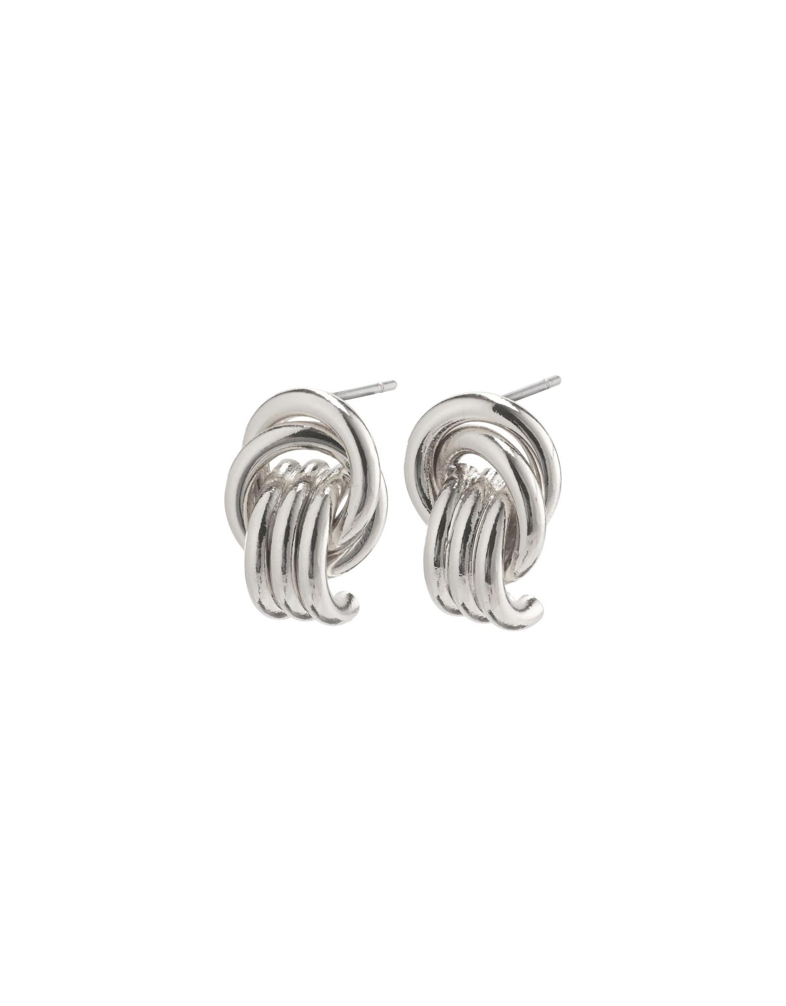 Pilgrim Pilgrim Doris Earrings Silver Plated