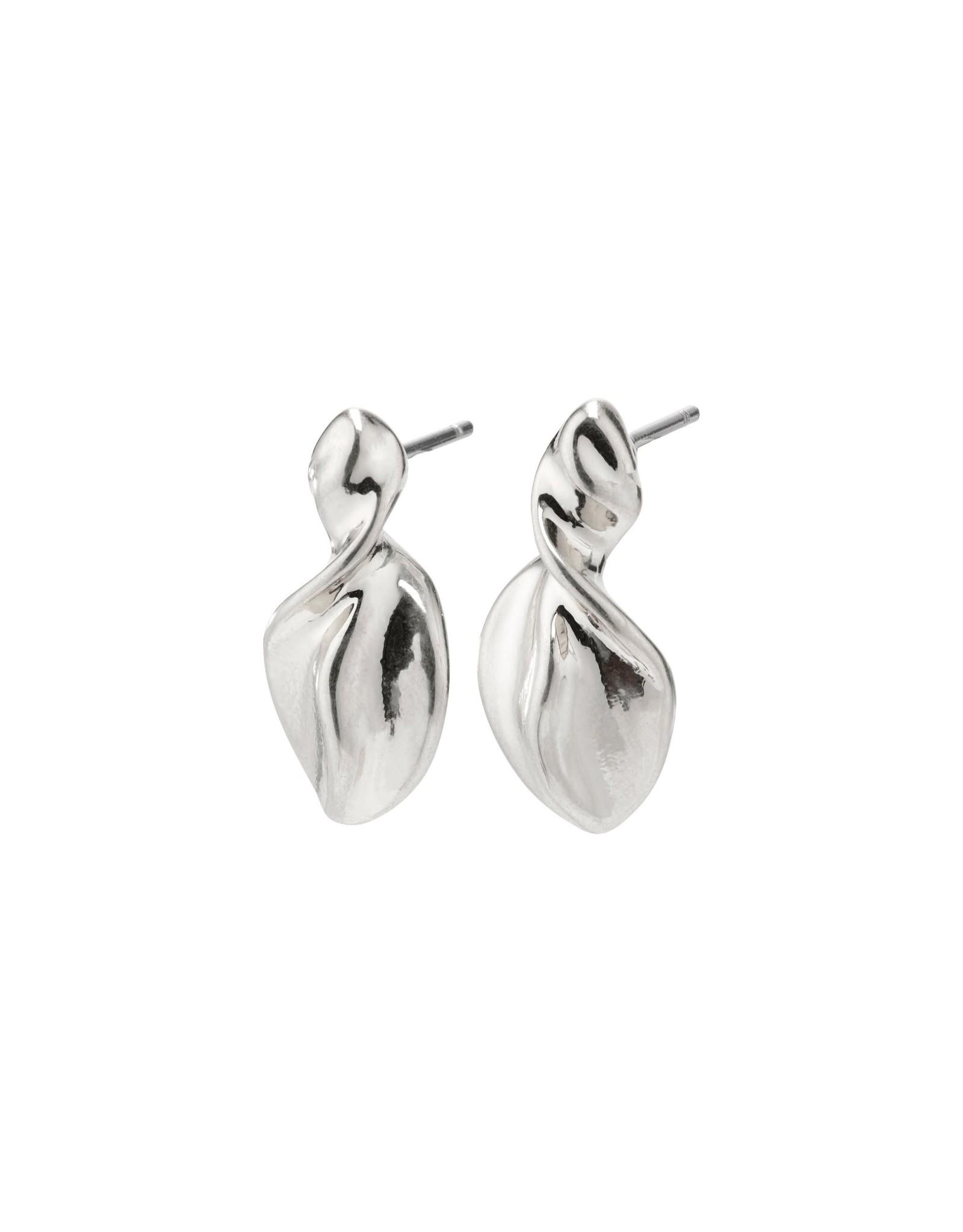 Pilgrim Pilgrim Hollis Earrings Silver Plated