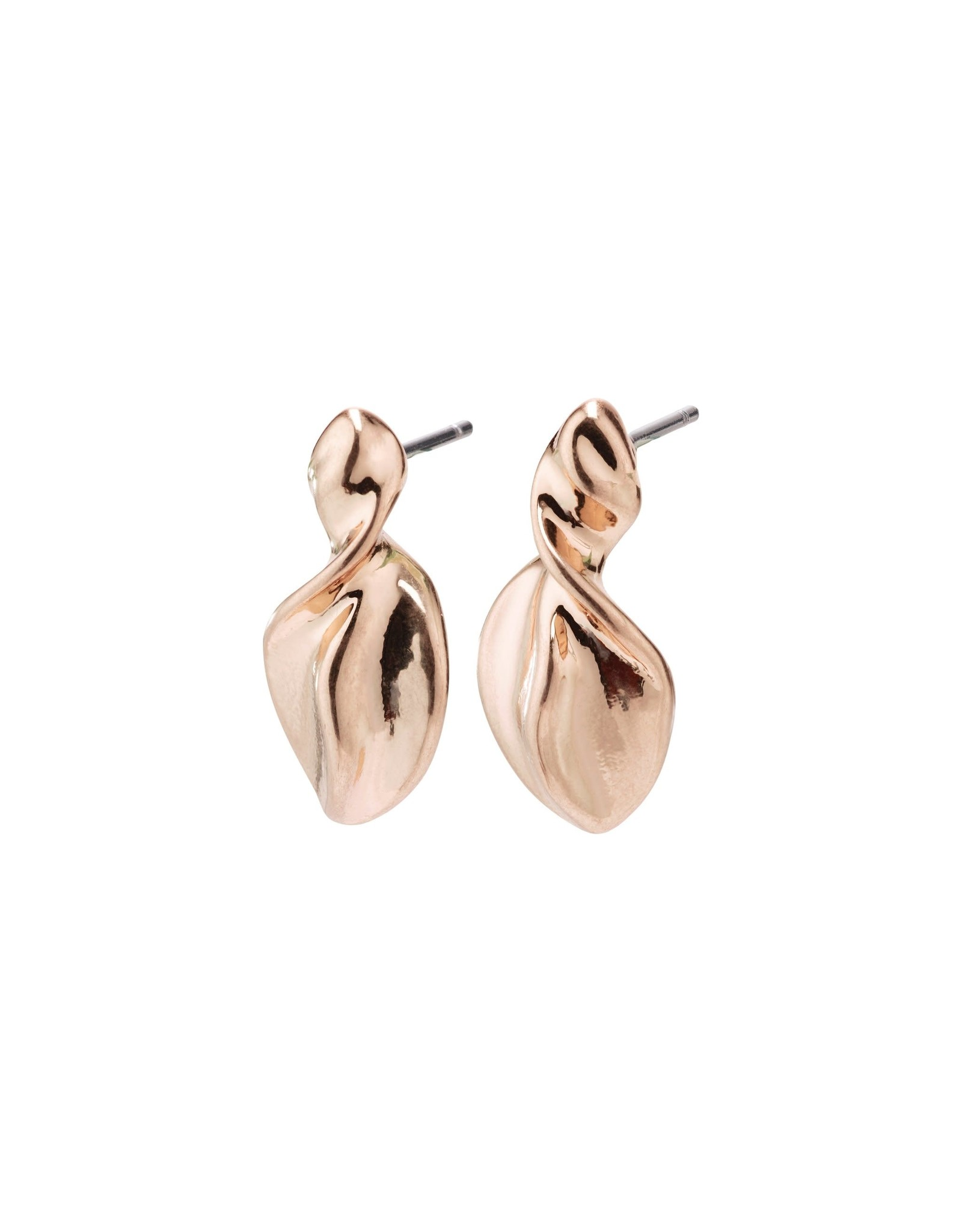 Pilgrim Pilgrim Hollis Earrings Rose Gold Plated