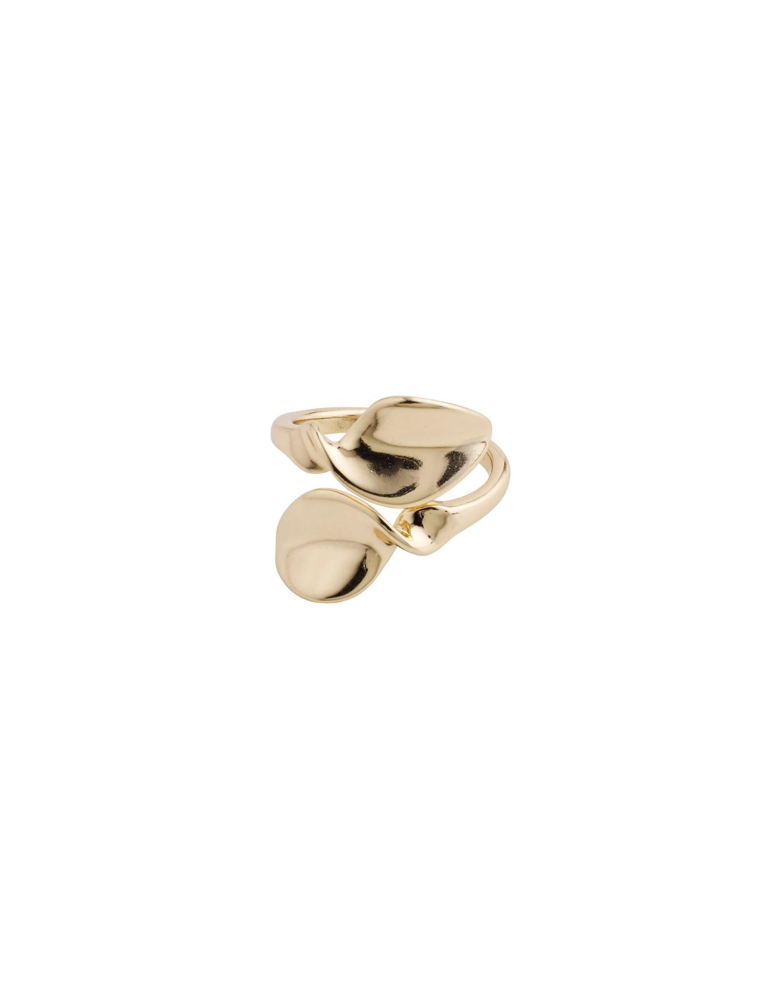 Pilgrim Pilgrim Hollis Ring Gold Plated