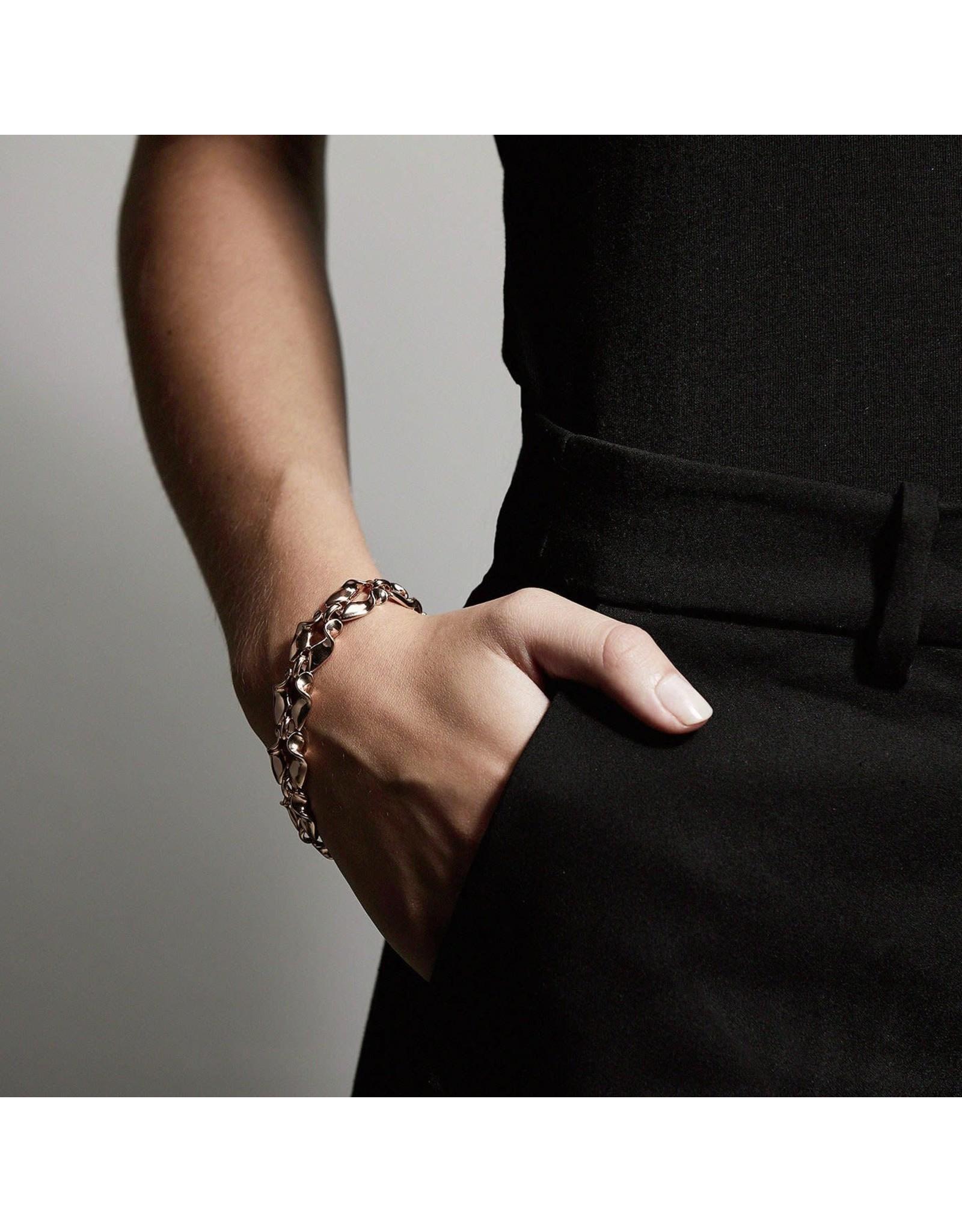 Pilgrim Pilgrim Hollis Bracelet Rose Gold Plated