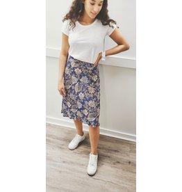 Velvet Velvet Aila Printed Challis Skirt