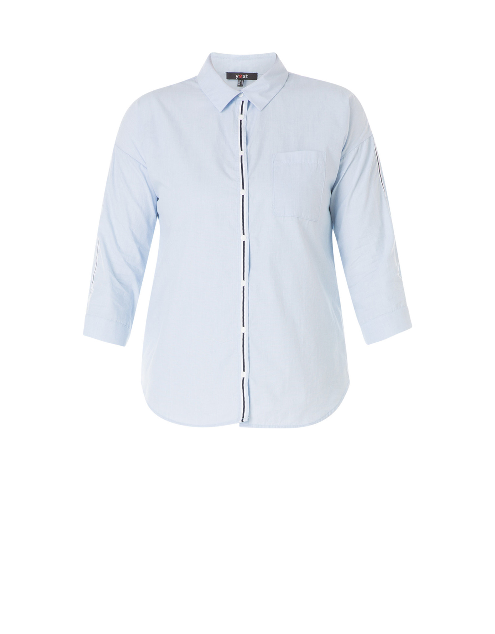 Yest Yest Stripe Detail Shirt