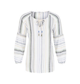 Tribal Tribal Striped Raglan Blouse