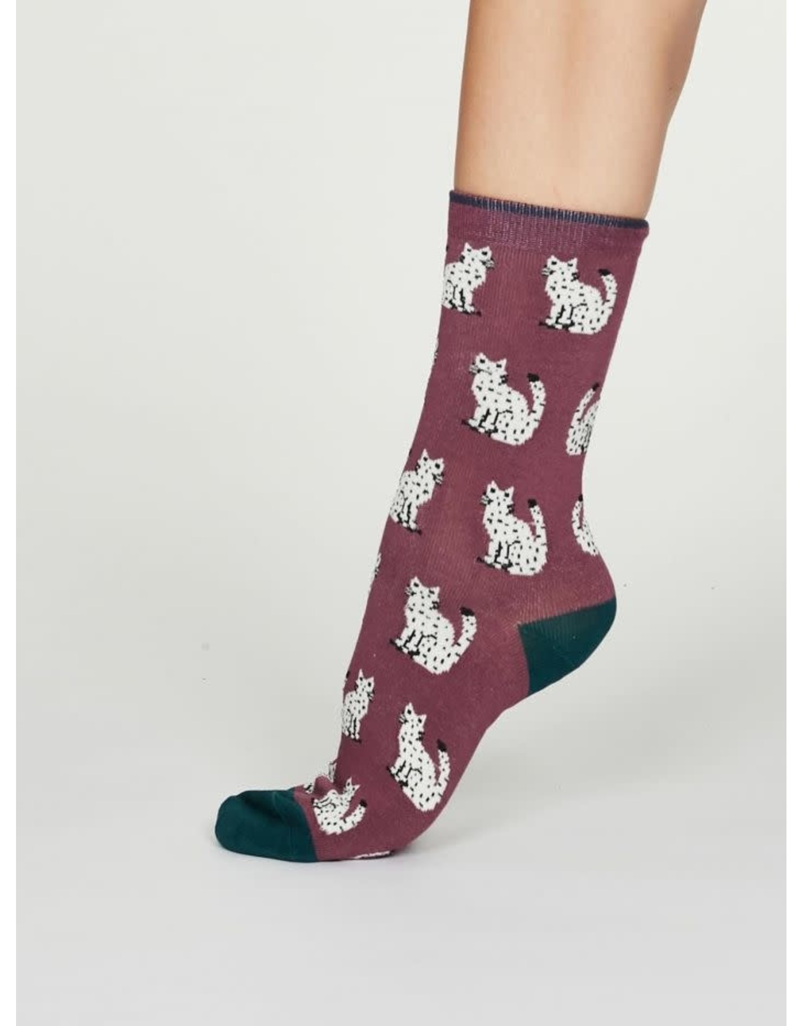 Thought Thought Kitty Socks