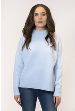 Lyla & Luxe Sam Mockneck Raised Seam Sweater