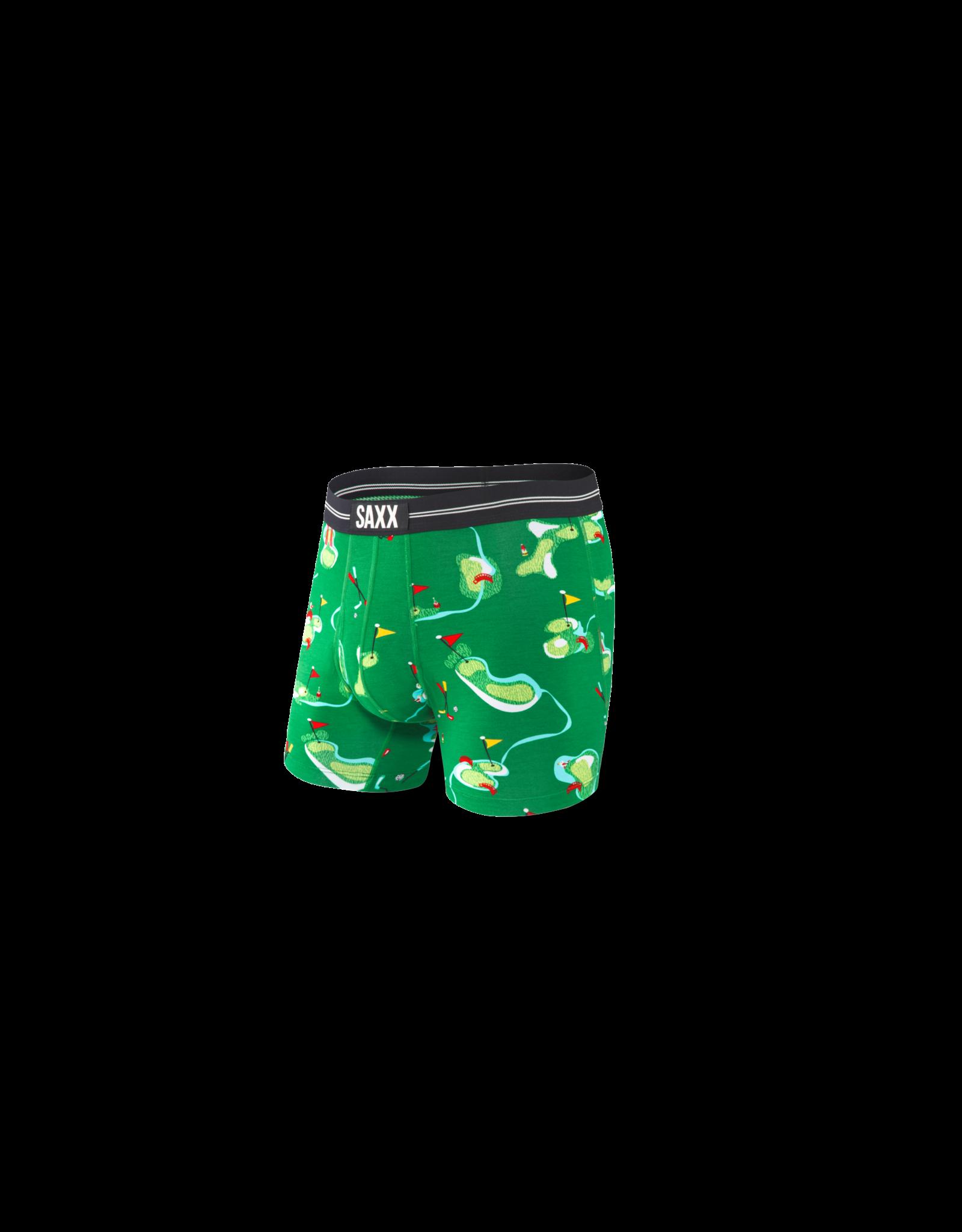 Saxx Saxx Ultra Boxer Brief Fly - Green Putt Putt