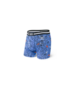 Saxx Saxx Vibe Boxer Brief - Blue First and 10