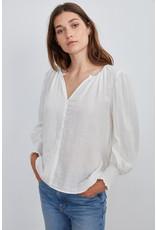 Velvet Velvet Rylee Cotton Gauze Long Sleeve Blouse