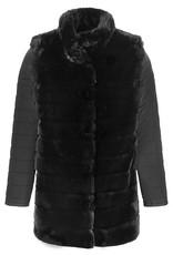 Tribal Tribal Faux Fur Vest/Coat