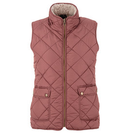 Tribal Tribal Reversible Vest with Sherpa