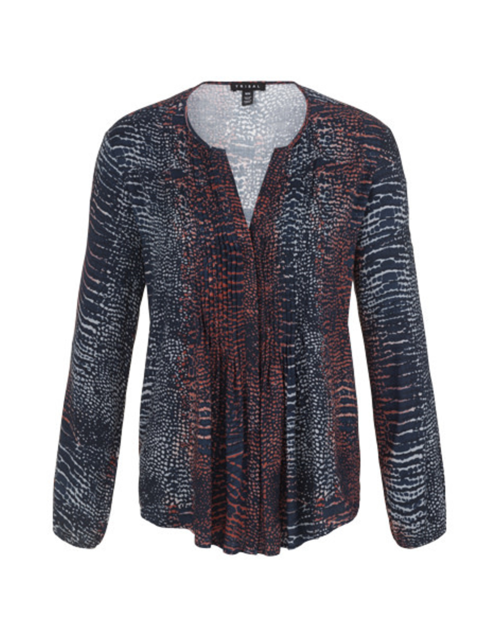 Tribal Tribal Blouse with Pleats