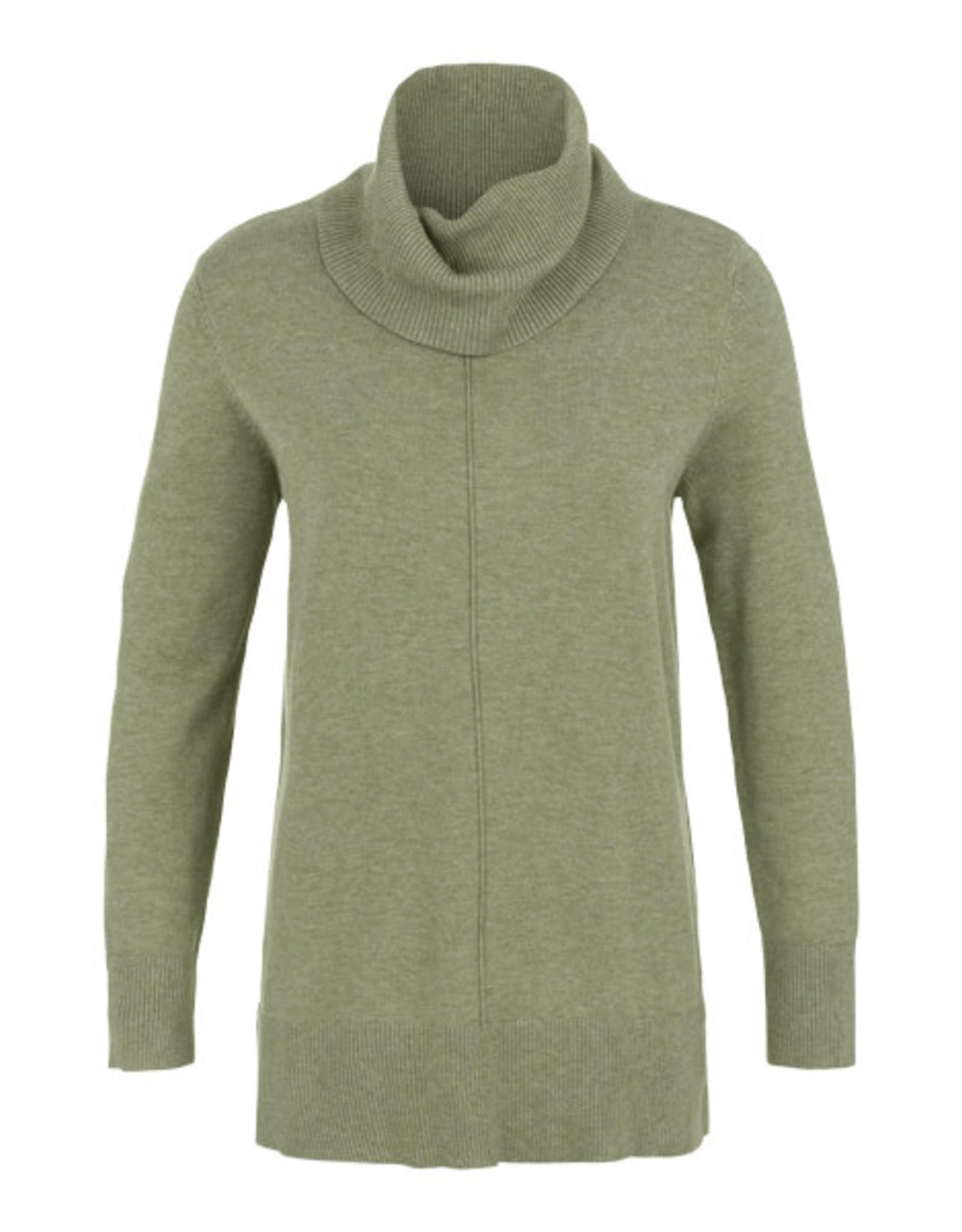 Tribal Tribal Long Cowlneck Sweater