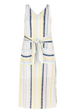 Tribal Tribal Midi Dress with Tie and Pockets