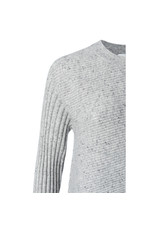 Yaya Yaya Asymmetric Mixed Rib Sweater