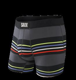 Saxx Saxx Vibe Boxer Brief - Black Surf Stripe