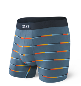 Saxx Saxx Undercover Boxer Brief Fly - Blue Flag Stripe