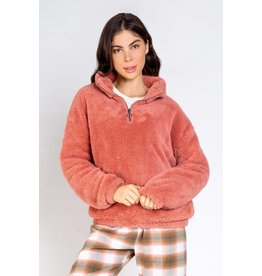 PJ Salvage PJ Salvage Cozy Cuddlers Solid Pullover