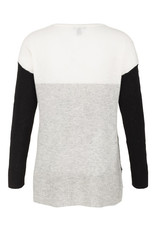 Tribal Tribal Long Sleeve Cashmere Colourblock Sweater