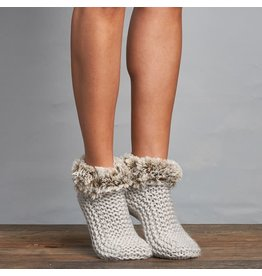 Lemon Winter Cabin Cute Bootie