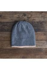 Lemon Soft Wool Reversible Hat